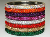 LAS VEGAS BANGLE - FUCHSIA