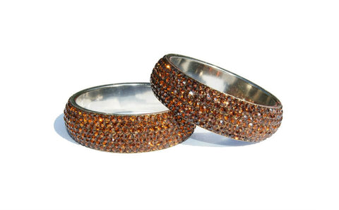 HOLLYWOOD BANGLE - BRONZE