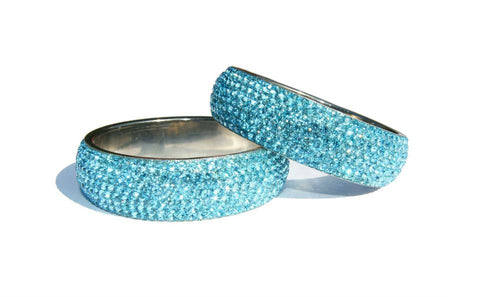 HOLLYWOOD BANGLE - TURQUOISE