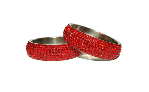HOLLYWOOD BANGLE - RED