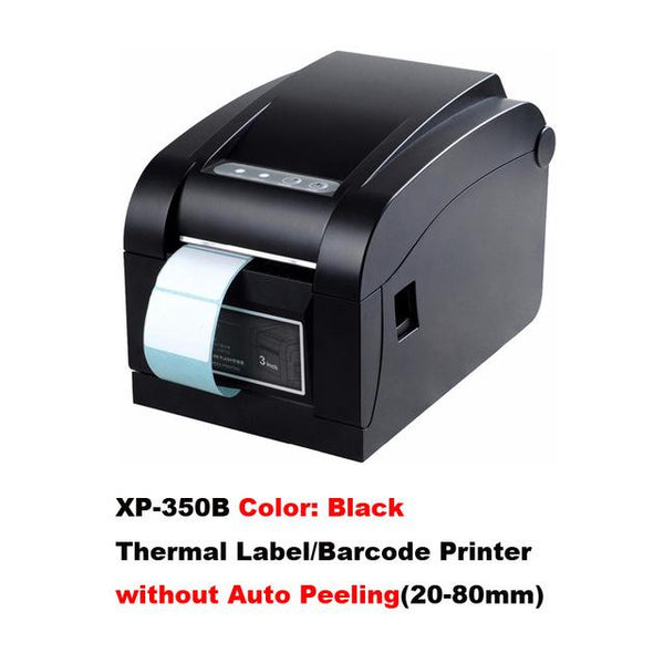 20mm to 80mm Label Barcode & Receipt Thermal Printer with Automatic Stripping