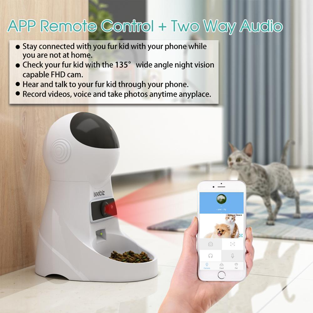 3L Smart Automatic Pet Feeder Programmable Dog & Cat Food Dispenser