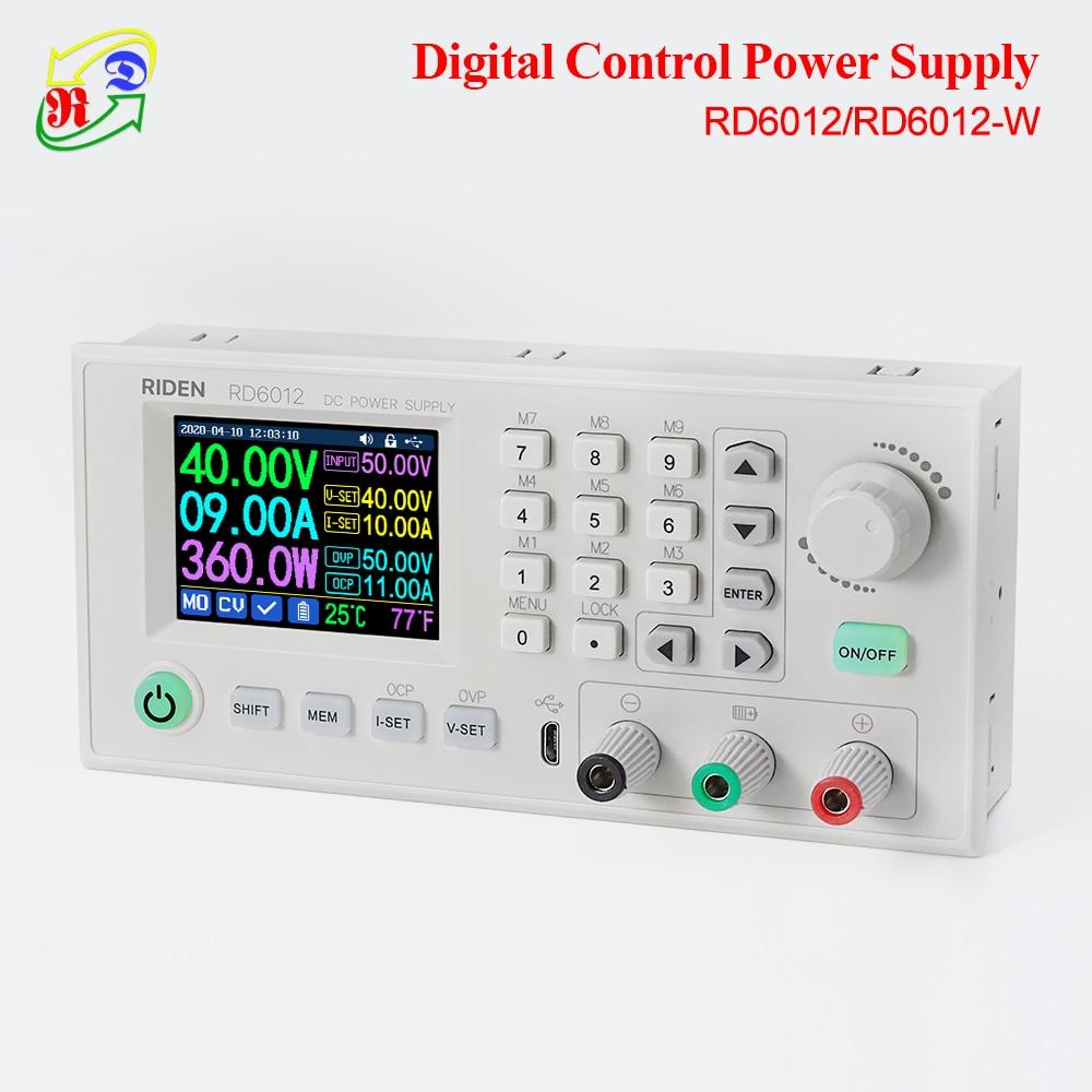 60V 12A Digital Step Down Adjustable DC Power Supply Module Buck Voltage Converter Multimeter
