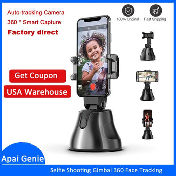 Auto Tracking Camera Phone Holder - Smart Shooting Selfie Stick