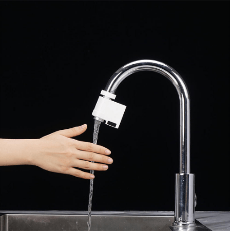Automatic Motion Sensor Touchless Faucet Adapter for Kitchen and Bathroom