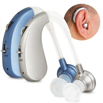 Digital Rechargeable Hearing Aid Hearing Amplifier Noise Reduction for Adults and Seniors