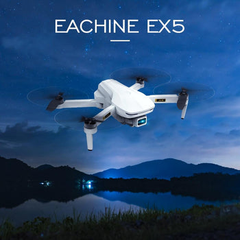 Eachine EX5 RC Quadcopter Mini Drone 4K Profesional 5G 4K HD GPS 1000m/200m FPV Camera Foldable Remote Control Racing Dron Toys|RC Helicopters