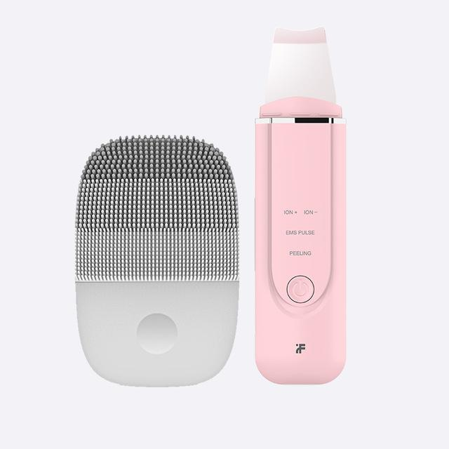 Facial Cleansing Brush & Ultrasonic Ion Skin Scrubber Face Exfoliator