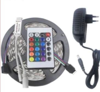 Flexible SMD 5050/2358 RGB LED Light Strip with Remote Control