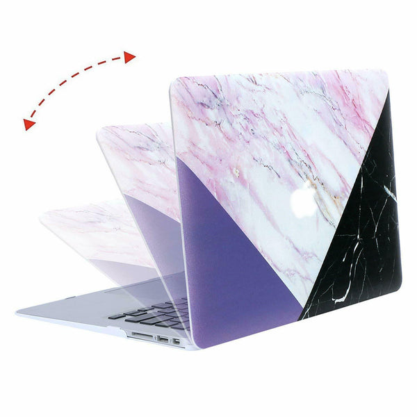 Hard Shell Matte Laptop Cover - Snap-On Macbook Case for Mac 11,12,13 Air/Retina