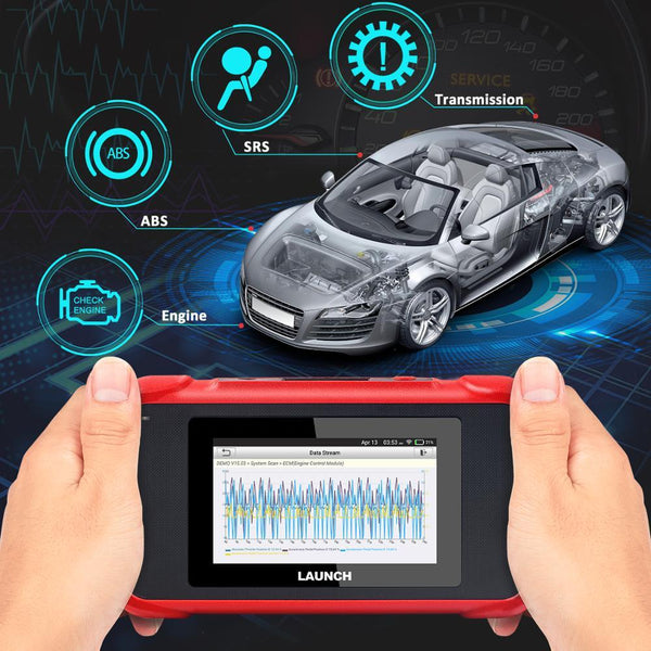 Launch X431 CRP129E OBD2 diagnostic tool for ENG/AT/ABS/SRS Multi-language Lifetime Free Update