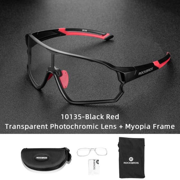 Photochromic Cycling Glasses MTB Road Cycling Eyewear Protection Goggles