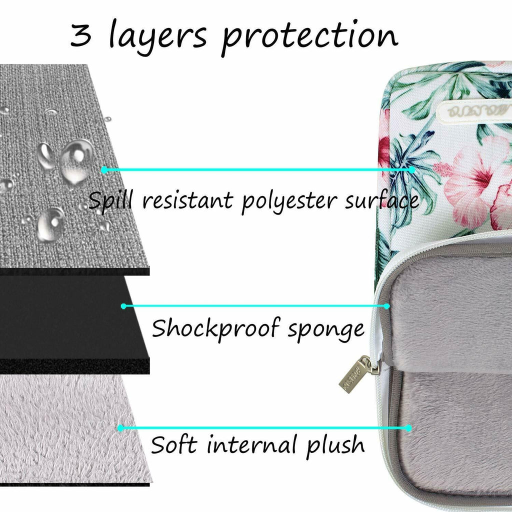 Premium Water Repellant Macbook Case Polyester Vertical Laptop Sleeve Cover