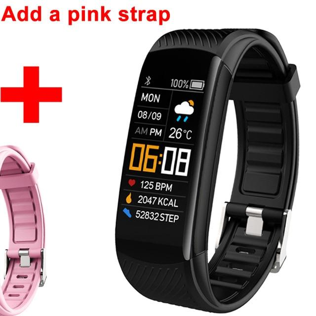 USB Rechargeable Smartwatch Fitness Band Multi-Sport Activity Tracker for Men & Women