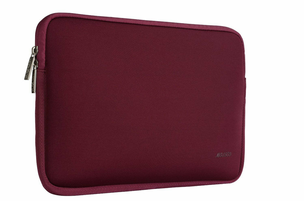 Waterproof Macbook Case Top Zipped Neoprene Laptop Sleeve w/ Pouch for New Air Pro 13 & Pro 16