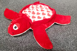 Valentine Plush Sea Turtle