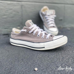 Gray and white Converse Chuck Taylor All Star sneaker cleaning Columbus ohio