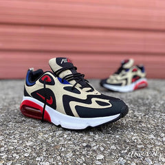 Black brown red white and blue Nike Air Max 90 sneakers Columbus ohio