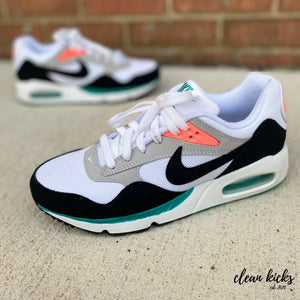 Green, Black and white Nike Air Max Correlate Columbus ohio