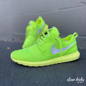 Electric Green Nike Air Roshe One clean kicks Columbus Ohio