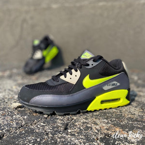 Air Max 90 Black and Green shoe cleaning near me Columbus