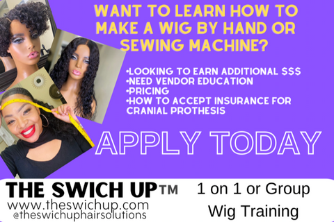 Flyer of advertisement for training classes with The Swich Up