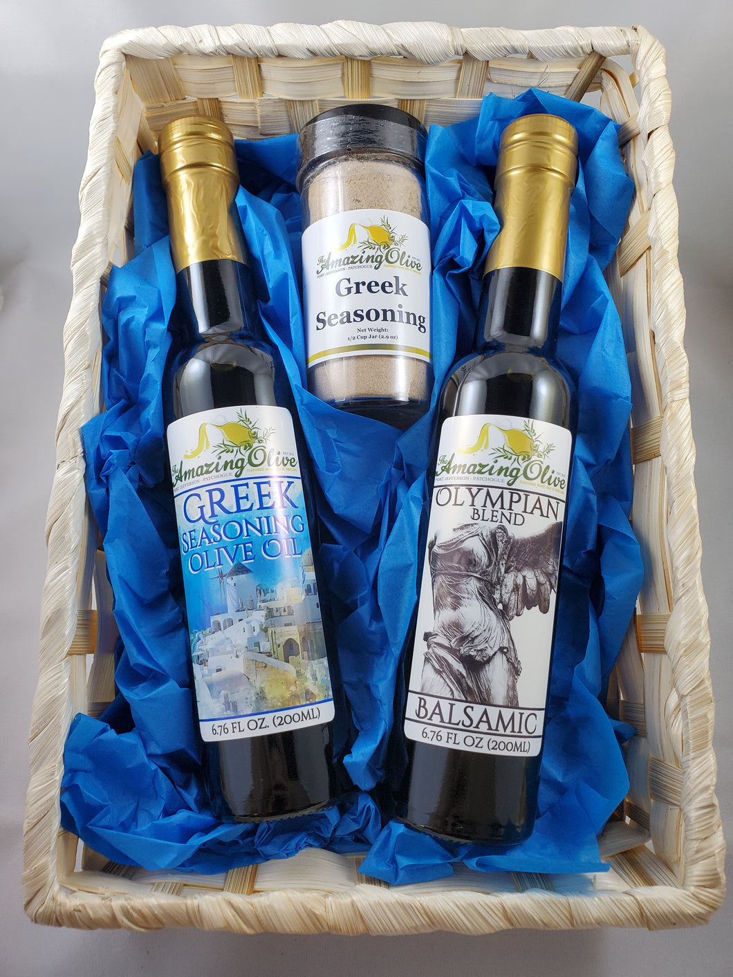 Taste of Greece Gift Basket