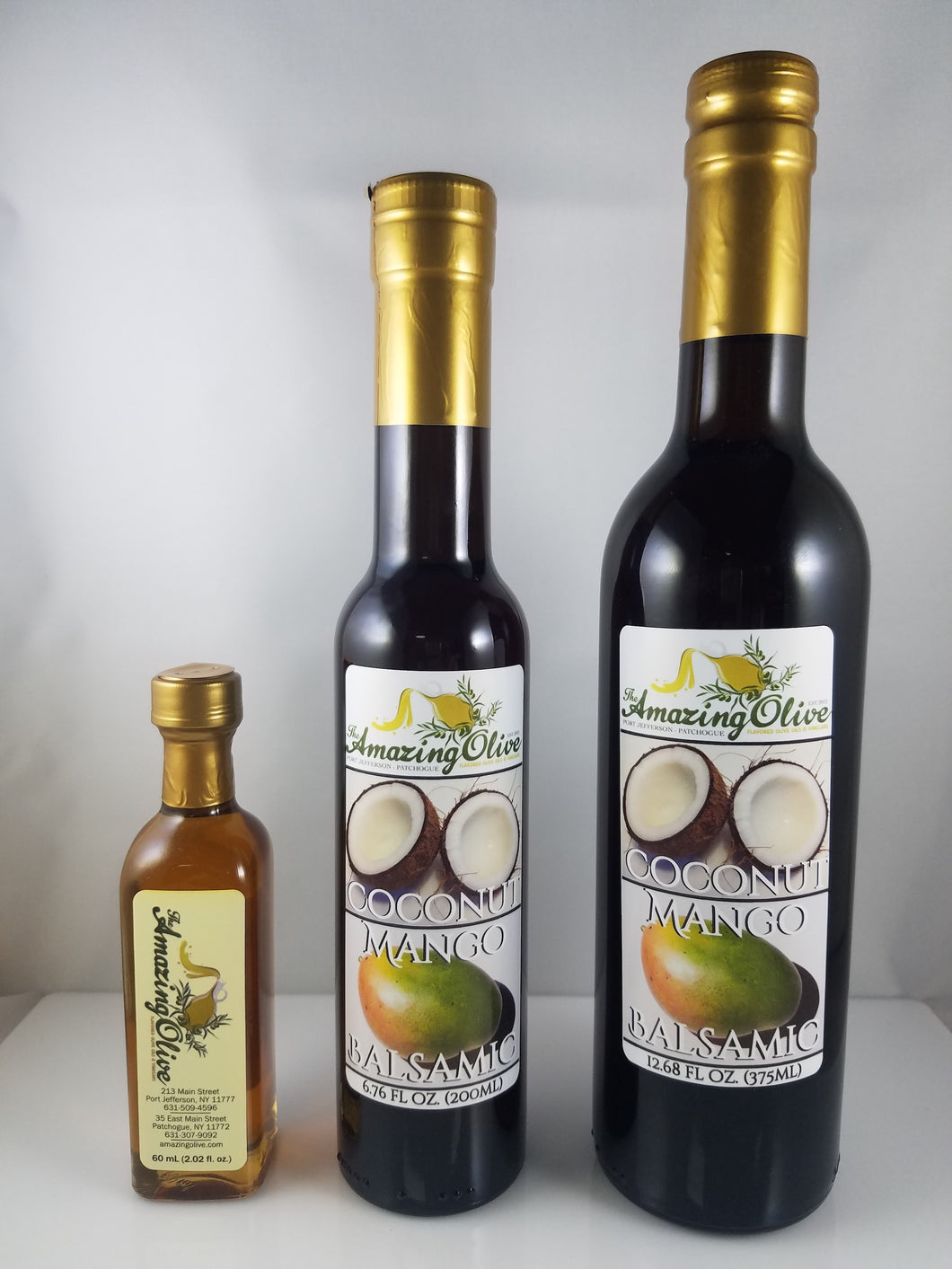 Coconut Mango Twist Balsamic Vinegar