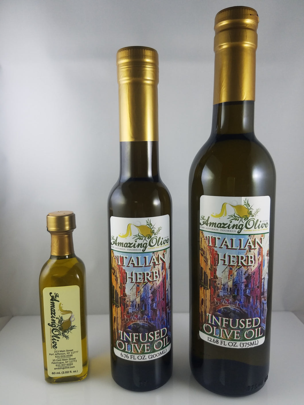 Italian Herb Infused Olive Oil