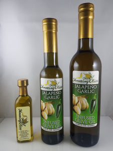 Jalapeño Garlic Infused Olive Oil