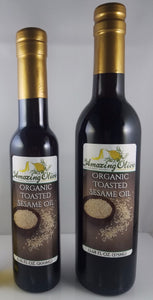 Organic Toasted Sesame Seed Oil