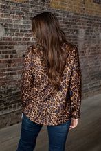 Load image into Gallery viewer, L&B Leopard Studded Cutout Top