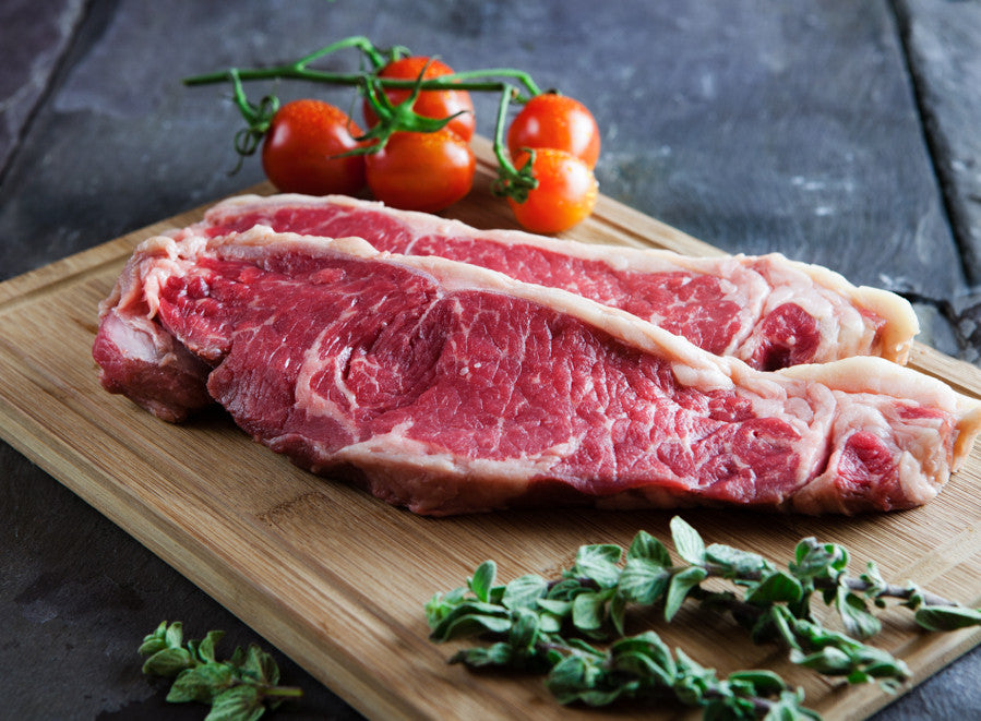 Prime US Grain Fed Striploin Steak
