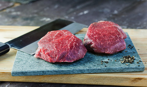 Wagyu Fillet Steaks BMS 1-2