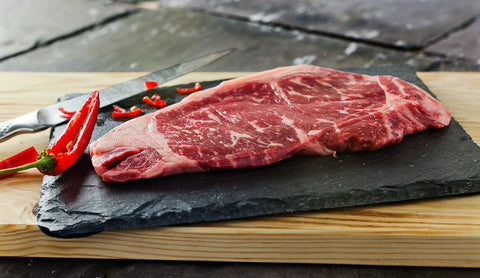 Wagyu Striploin Steak BMS 1-2