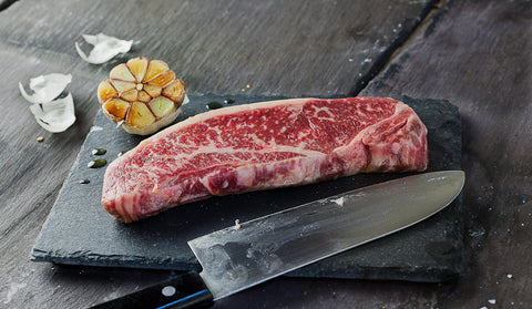 Wagyu Striploin Steak BMS 8-9