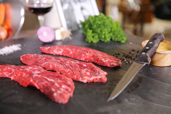 Whole Wagyu Bavette de Aloyau BMS 3-5