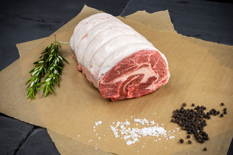 Freedown Hills UK Olive Fed Wagyu Chuck Roast (with Japanese Wagyu Fat) (±1kg; Frozen)