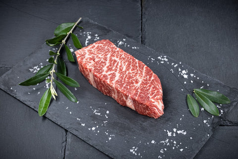 1 x Freedown Hills Olive Fed Wagyu Denver Steak