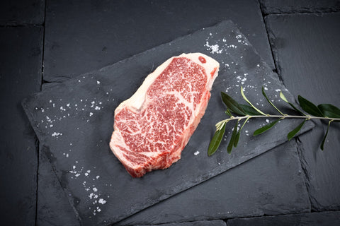 Freedown Hills Olive Fed Wagyu Striploin Steak