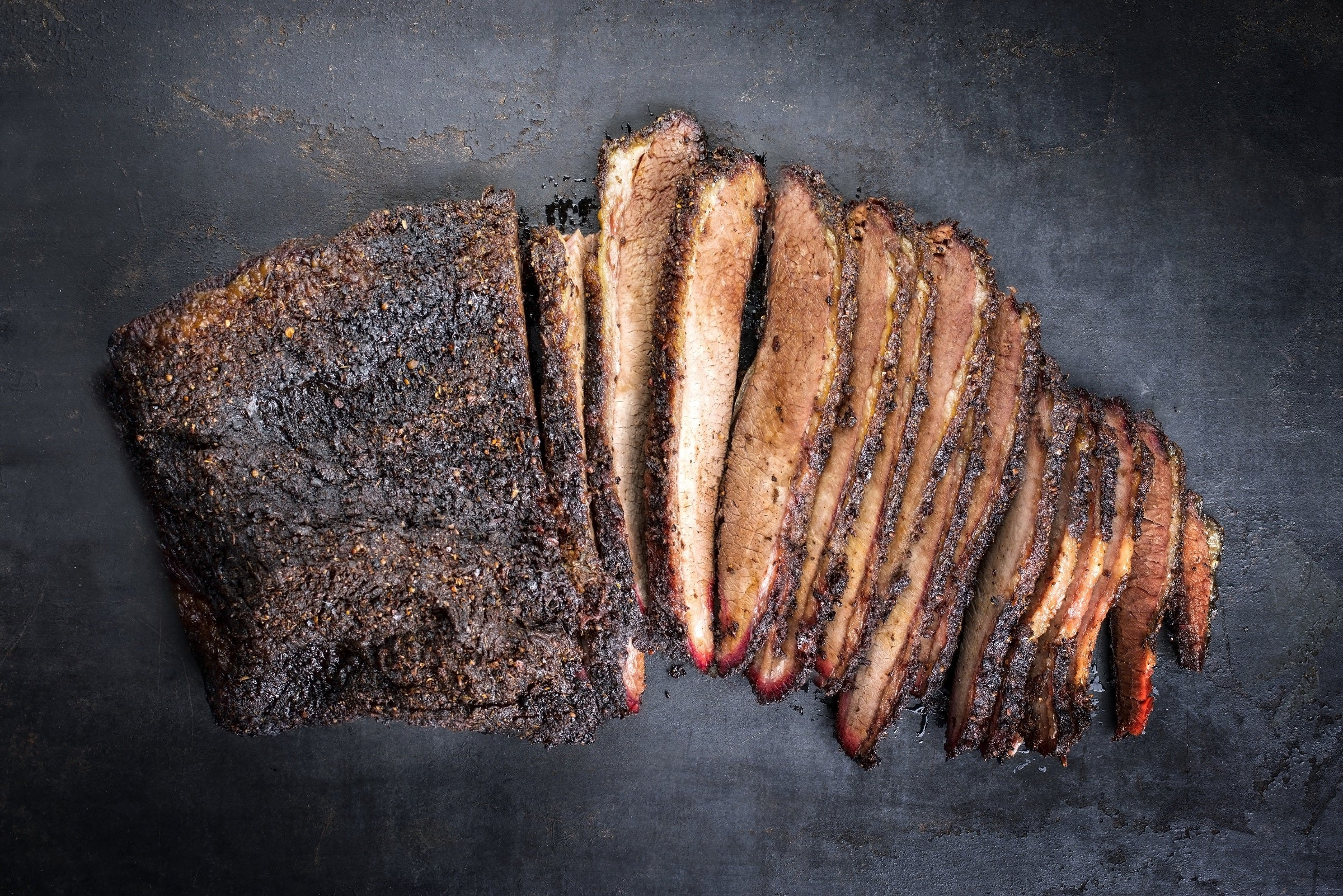 Whole Freedown Hills Olive Fed Wagyu Navel End Brisket (±3kg; £25.33/kg; Frozen)