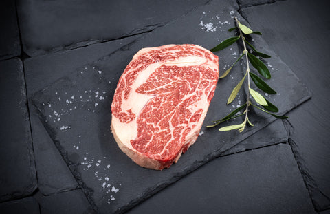 Freedown Hills Olive Fed Wagyu Ribeye Steak