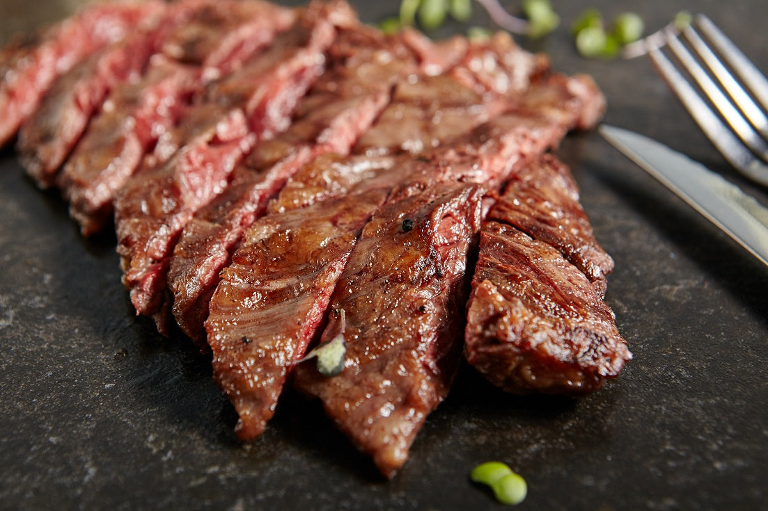 Whole Wagyu Bavette de Aloyau BMS 1-2 (±3kg; £28.50/kg) (Chilled)