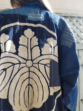 Load image into Gallery viewer, Patchwork Family Crest Remake Boro Jacket