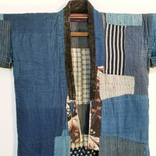Load image into Gallery viewer, Patchwork Indigo Farmer Boro Noragi Jacket