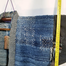 Load image into Gallery viewer, Sakiori Weave Hemp Boro Farmer's Jacket