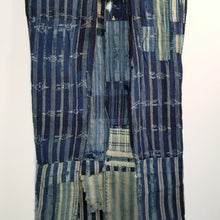 Load image into Gallery viewer, Patchwork Indigo Boro Long Vest
