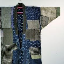 Load image into Gallery viewer, Patchwork 1920s Boro Farmer's Noragi Jacket