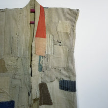 Load image into Gallery viewer, Patchwork Boro Farmer's vest