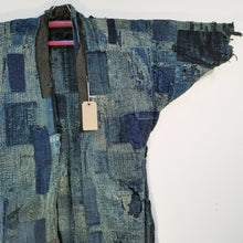 Load image into Gallery viewer, Patchwork Boro Edo Reversible Winter Noragi Jacket